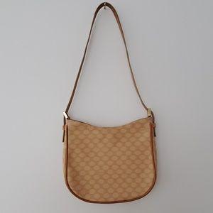 Celine Macadam Print Small Vintage Shoulder Bag